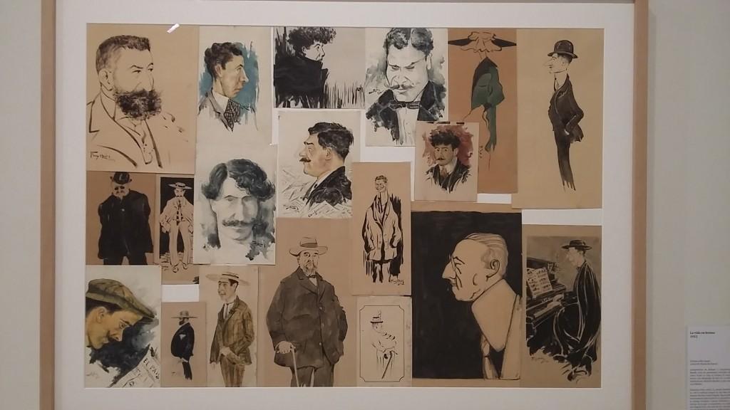 Exposición sobre el papel: En torno a los retratos de Ramón Acín. Fot. MdH