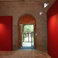 Entrada al Salón del Trono desde las salas del Museo. © Foto Museo de Huesca.