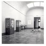Sala de Arqueología del Museo de Huesca en su nueva sede a partir de 1967.© Archivo fotográfico Museo de Huesca.