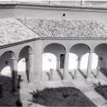 Patio del Museo de Huesca en su nueva sede a partir de 1967. © Archivo fotográfico Museo de Huesca.