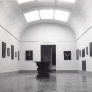 Sala de Bellas Artes del Museo de Huesca en su nueva sede a partir de 1967. © Archivo fotográfico Museo de Huesca.