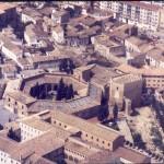 Vista aérea del Museo de Huesca a finales de los años 80 del s. XX. © Archivo fotográfico Museo de Huesca.