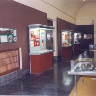 Sala dedicada a la Prehistoria. Años 80 del s. XX. © Archivo fotográfico Museo de Huesca.