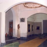 Zona de acceso hacia el llamado Salón del Trono. Años 80 del s. XX. © Archivo fotográfico Museo de Huesca.