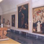 Sala dedicada a la pintura del s. XVII. Años 80 del s. XX. © Archivo fotográfico Museo de Huesca.