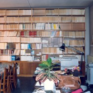 Biblioteca del Museo de Huesca. 1992. © Archivo fotográfico Museo de Huesca.