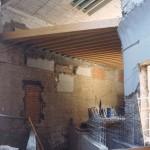 Obras de rehabilitación del Museo de Huesca. 1993. © Archivo fotográfico Museo de Huesca.