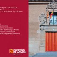 Folleto del Museo de Huesca.