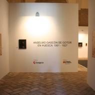 El pintor Anselmo Gascón de Gotor en Huesca 1901-1927. © Foto Museo de Huesca.