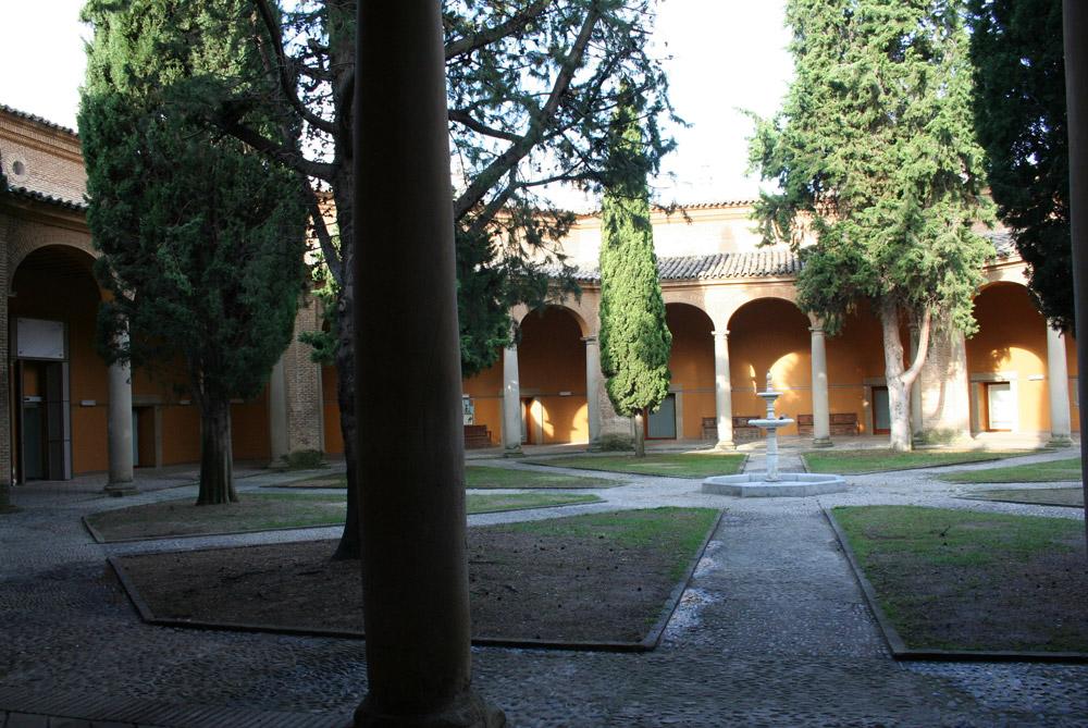 Patio del Museo de Huesca. © Foto Museo de Huesca.