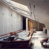 Renovación arquitectónica del edificio. Años 1993-1995. © Foto Museo de Huesca.
