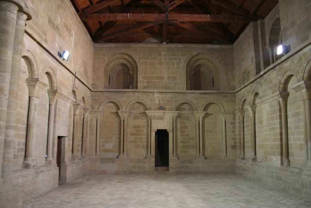 Sala de Doña Petronila. © Foto Museo de Huesca.