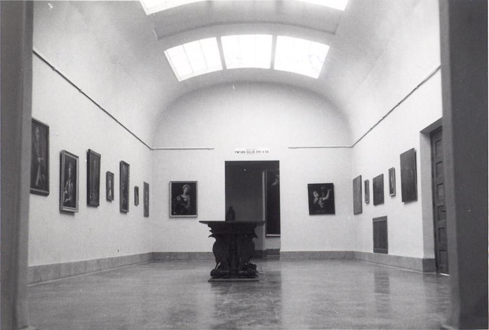 Sala V. Pintura siglos XVIII-XIX. Museo de Huesca. Años 60-70. © Foto Museo de Huesca.