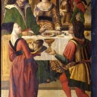 Degollación de San Juan Bautista. Anónimo Óleo sobre tabla. Ca. 1500. NIG. 00022. © Foto Fernando Alvira. Museo de Huesca.