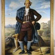 Un aragonés. León Abadías Santolaria. Óleo sobre lienzo. 1861 (ca). NIG. 00141. © Foto Fernando Alvira. Museo de Huesca.