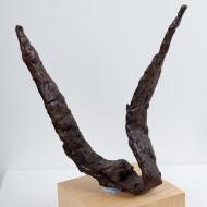 Espadas rectas afectadas por cremación. Ibérica. Necrópolis de la Avenida Martínez de Velasco, Huesca. NIG. 04002. © Foto Fernando Alvira. Museo de Huesca.