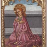 San Juan Evangelista. Juan de la Abadía. Temple sobre tabla. 1490. NIG. 11004. © Foto Fernando Alvira. Museo de Huesca.