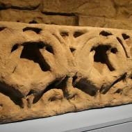 Sarcófago de Infanta. Panteón del Monasterio de Santa Cruz de la Serós. s. XII. @Foto Museo de Huesca.