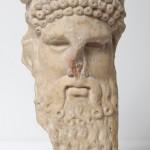 Cabeza, Hermes. Mármol. 100 a.E.-100 d.C. Huesca. NIG. 08170. © Foto Fernando Alvira. Museo de Huesca.