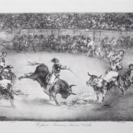 El famoso americano Mariano Ceballos. Francisco de Goya y Lucientes. Litografía. 1825. NIG. 01094. © Foto Fernando Alvira. Museo de Huesca.