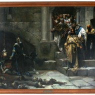 La campana de Huesca. José Casado del Alisal. Óleo sobre lienzo. 1880. NIG. 08700. © Foto Fernando Alvira. Museo de Huesca.