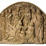 La resurrección de Lázaro. Gil de Brabante. Roble tallado. 1500. NIG.02510. © Foto Fernando Alvira. Museo de Huesca.