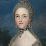 María Luisa de Parma. Anónimo. Óleo sobre lienzo. 1765. NIG. 00070. © Foto Fernando Alvira. Museo de Huesca.