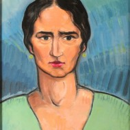 Retrato de Conchita Monrás. Ramón Acín. Óleo sobre lienzo .1934. NIG. 04310. © Foto Fernando Alvira. Museo de Huesca.