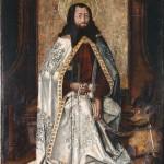 San Bartolomé. Miguel Jiménez. Óleo sobre tabla. 1475-1500. NIG.00009. © Foto Fernando Alvira. Museo de Huesca.