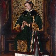 San Esteban Protomártir. Miguel Jiménez. Óleo sobre tabla .1475-1500. NIG. 00006. © Foto Fernando Alvira. Museo de Huesca.