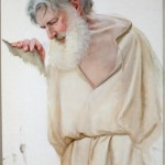 Santo Mártir. Martín Coronas. Óleo sobre lienzo 1911. NIG. 03410. © Foto Fernando Alvira. Museo de Huesca.
