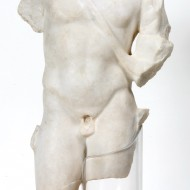 Torso masculino. Mármol. Villa Fortunatus. (Fraga, Huesca) NIG. 07833. © Foto Fernando Alvira. Museo de Huesca.