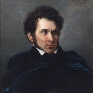 Valentín Carderera. Federico Madrazo. Óleo sobre lienzo.1833-1879. NIG. 00046. © Foto Fernando Alvira. Museo de Huesca.