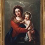 Virgen con Niño. Ramón Bayeu. Óleo sobre lienzo. 1751-1800. NIG. 10926. © Foto Fernando Alvira. Museo de Huesca.