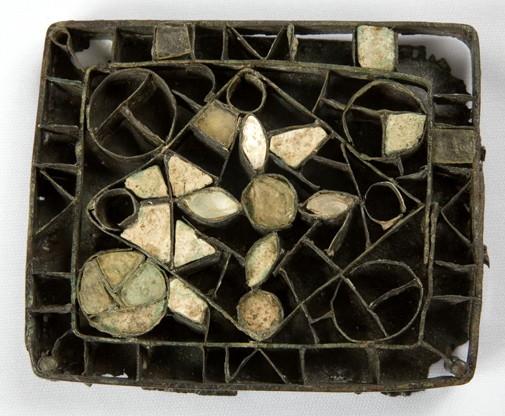 Broche. s. VI. Necrópolis de Sabayés. Sabayés (Huesca). NIG. 07045 © Foto Fernando Alvira. Museo de Huesca.