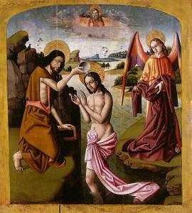 El Bautistmo de Jesús