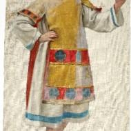 Estudio para uno de los porteadores de la Virgen de Salas. (Fot. F. Alvira. MdH)