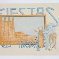 Portada del programa de fiestas de San Lorenzo 1913. (Fot. F. Alvira. MdH)