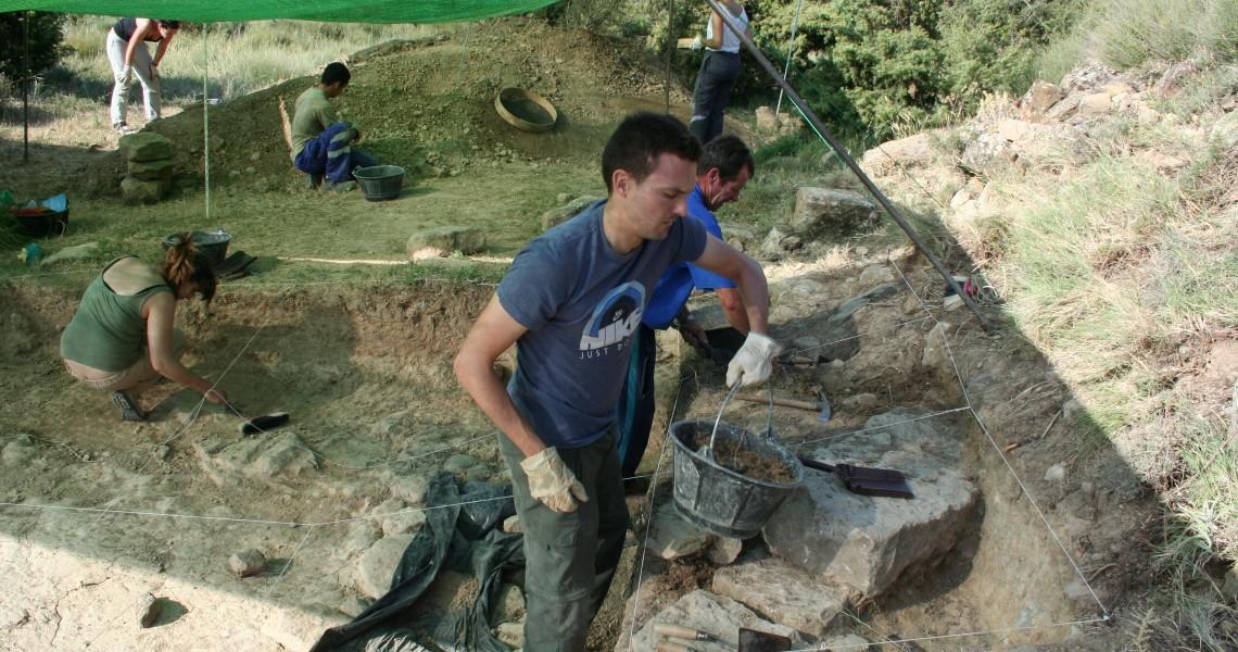 Momento de las excavaciones (Fot.MdH)