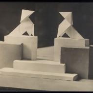 Maqueta de Monumento de las Pajaritas (Fot. Fdo. Alvira, MdH)