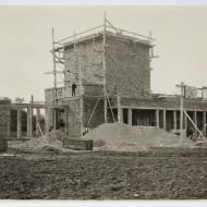 Construcción del Rincón de Goya, c. 1928 (Archivo Acín, MdH, Fot. Fdo. Alvira)