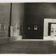 Exposición de Acín en el Rincón de Goya, 1930 (Archivo Acín, MdH, Fot. Fdo. Alvira)