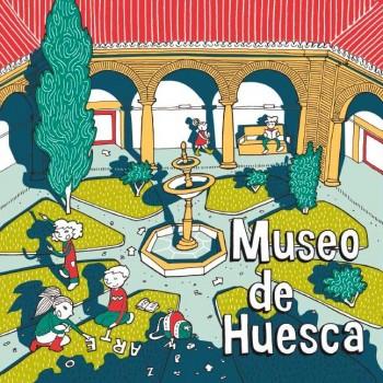 Folleto infantil Museo de Huesca
