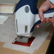 Arqueometría analizando materiales de La Vispesa(Fot.MdH)