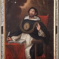 Santo Tomás de Aquino.Luis Muñoz Lafuente.Óleo sobre lienzo.1795.NIG.03568. Foto Fernando Alvira. Museo de Huesca.