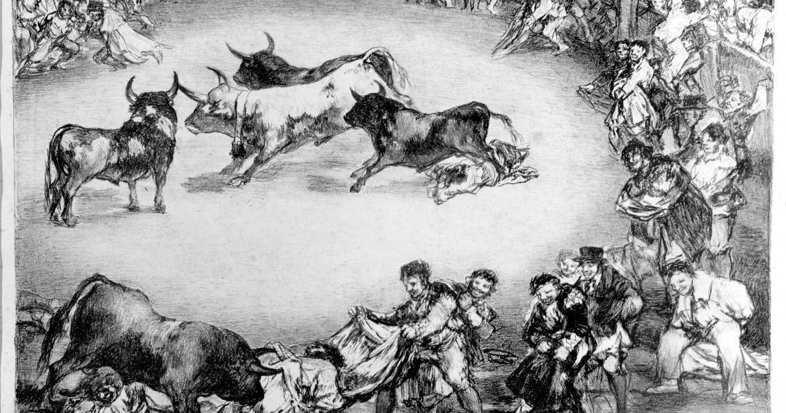 Dibersión de España, Francisco de Goya. Foto: Fernando Alvira