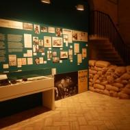 """Imagen de la exposición """"Orwell toma café en Huesca"""". Fot. Archivo MdH"""
