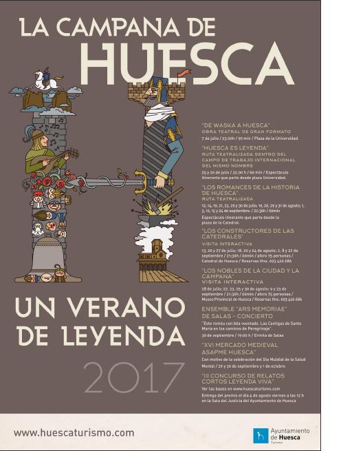 La Campana de Huesca, un verano de leyenda