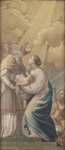 presentación del niño Jesús en el templo