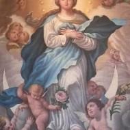 Inmaculada Concepción de Manuel Bayeu Subias, Casa Ric - Sergio Artiaga, Archivo del Gobierno de Aragón